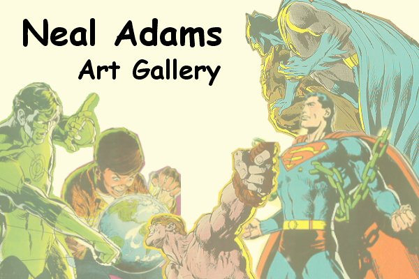 Neal Adams Art Gallery